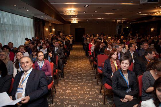 В аудитории казанской конференции ПВФО